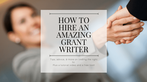 Hire grant writers and grant coaches in your area of focus.