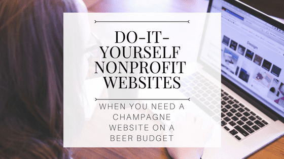 cain nonprofit solutions diy nonprofit websites on a budget